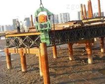 下钢筋笼专用弹簧打桩锤根据桩径选用弹簧振动锤规格