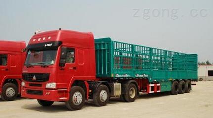 供应华威低密度粉粒物料运输半挂车