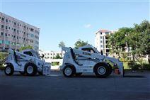 華南重工小型多功能伸縮臂叉車小噸位越野伸縮臂叉裝車