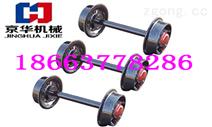 标准铸钢3T矿车轮对 矿车轮组 定做矿车轮