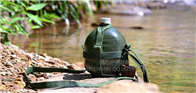 复古水壶 野外水壶  铝制水壶