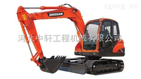 斗山DX75-9C挖掘機配件