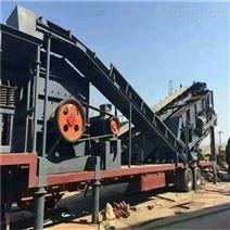 車載式礦山石子打砂機 大型移動破碎站