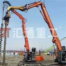 廣州挖掘機配件打樁臂、液壓打樁機制造廠家