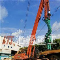 專業改裝鉤機打樁臂、液壓打樁機廠家