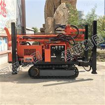 山地區域可用履帶式自行走垂直打孔鉆機