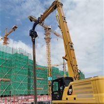 挖掘機定制改裝13米15米18米打樁臂優質服務