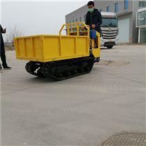 寿光蔬菜基地专用手扶履带运输车 自卸车