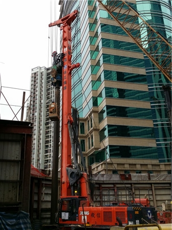 泰州洗涤机械徐工XR220DIV旋挖钻机闪耀维多利亚港