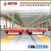 供应锻造机械设备组装车间电动转运车KPC滑触线供电地轨车